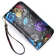 baratos Clutches & Bolsas de Noite-Mulheres Bolsas PU Bolsa de Mão Bordado / Ziper Azul