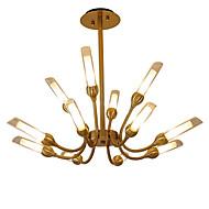billige Takbelysning og vifter-LWD Candle-stil / Sputnik / Cone Lysekroner Kreativ, Nytt Design, Stearinlys Stil, 110-120V / 220-240V Pære ikke Inkludert