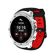 tanie Inteligentne zegarki-Inteligentny zegarek CW703 na Pulsometr / Spalone kalorie / GPS / Odbieranie bez użycia rąk / Ekran dotykowy Czasomierz / Krokomierz / Powiadamianie o połączeniu telefonicznym / Rejestrator