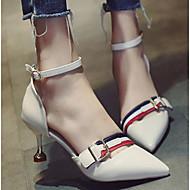 baratos Sapatos Femininos-Mulheres Sapatos Couro Ecológico Primavera & Outono Conforto / Plataforma Básica Saltos Salto Agulha Preto / Bege / Amarelo