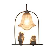 baratos Arandelas de Parede-Criativo / Adorável Moderno / Contemporâneo / Regional Luminárias de parede Sala de Estar / Quarto de Estudo / Escritório Metal Luz de parede 110-120V / 220-240V