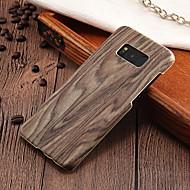 billiga Mobil cases & Skärmskydd-fodral Till Samsung Galaxy S8 Plus / S8 Ultratunt Skal Trämönstrat Hårt PC för S8 Plus / S8 / S7 edge