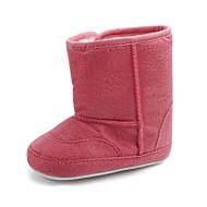 baratos Sapatos de Menina-Para Meninos / Para Meninas Sapatos Algodão Inverno / Outono & inverno Sapatos de Berço / Botas de Neve Botas Velcro para Bebê Rosa claro / Azul Claro / Khaki / Festas & Noite