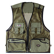 cheap Fishing-Men's Vest / Gilet Hunting / Fishing Lightweight / Breathability Spring / Summer Sports & Outdoor