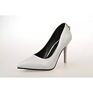 baratos Sapatos Femininos-Mulheres Sapatos Couro Ecológico Primavera Verão Conforto Saltos Salto Agulha Fúcsia / Cinzento Claro / Rosa claro