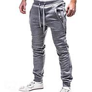 povoljno Under $13.99-Muškarci Osnovni Sportske hlače Hlače Jednobojni