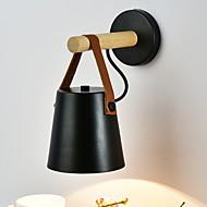baratos Arandelas de Parede-Moderno / Contemporâneo Luminárias de parede Sala de Estar Madeira / Bambu Luz de parede 220-240V 40 W