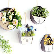 billige Kunstige blomster-Kunstige blomster 0 Gren Klassisk / Singel Enkel Stil / Pastorale Stilen Vase Veggblomst