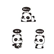 billiga Väggklistermärken-Dekrativa Väggstickers / Klistermärken för strömbrytare - Animal Wall Stickers Djur Vardagsrum / Sovrum / Badrum