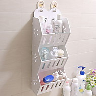 billige Bestselgere-Oppbevaring Organisasjon Kosmetisk Makeup Organizer Plast Uregelmessig form Flerlags / udekket