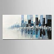 Χαμηλού Κόστους Κορυφαία σε Πωλήσεις-Hang-ζωγραφισμένα ελαιογραφία Ζωγραφισμένα στο χέρι - Αφηρημένο Μοντέρνα Καμβάς