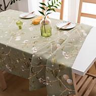billige Duker-Moderne Bomull Kvadrat Duge Blomstret Borddekorasjoner 1 pcs