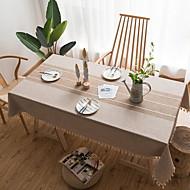 billige Bordduker-Moderne Ikke Vevet Kvadrat Duge Geometrisk Borddekorasjoner 1 pcs