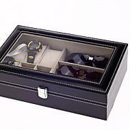 tanie Przechowywanie biżuterii-Przechowywanie Organizacja Kolekcja biżuterii Drewniany Nieregularny kształt Wielowarstwowy
