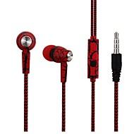 COOLHILLS S-9 ในหู สายไฟ หูฟัง หูฟัง พลาสติก / สายไฟ โทรศัพท์มือถือ หูฟัง Stereo / ด้วยการควบคุมระดับเสียง ชุดหูฟัง