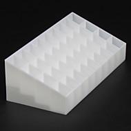 baratos Armazenamento de Bijuteria-Armazenamento Organização Organizador de Maquilhagem Cosmética Plástico Forma irregular Multicamadas / Descoberto