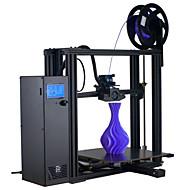 baratos Impressoras 3D-impressora do iaque do lunaxlab 3d, impressora 3d montada do desktop com trabalho duplo independente do endstop do z com o filamento flexível do pla abs