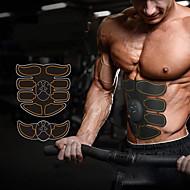 baratos Equipamentos & Acessórios Fitness-Estimulador ABS / Cinto de Tonificação Abdominal / EMS Abs Trainer Com 6 pcs Smart, Electrónico, Muskelstimulator Tonificação Muscular, Queimador De Gordura De Barriga, Treinamento final Para