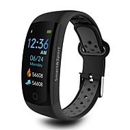 Indear Q6S Smart Armband Android iOS Bluetooth Sport Vattentät Hjärtfrekvensmonitor Blodtrycksmått Stoppur Stegräknare Samtalspåminnelse Aktivitetsmonitor Sleeptracker / Pekskärm / Brända Kalorier