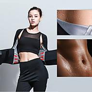 tanie Sprzęt i akcesoria fitness-Modelowanie sylwetki / Kombinezon typu sauna / Spodnie wyszczuplające Z Spandeks / Nano Sliver / Poliester Elastyczny, Super cienki, UltraLight Utrata wagi, Spalacz tłuszczu na brzuchu, Efekt sauny