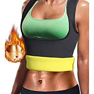 tanie Sprzęt i akcesoria fitness-Damskie Modelowanie sylwetki / Treningowy tank top wyszczuplający / Odzież modelująca Z Neopren Bez suwaka Utrata wagi, Spalacz tłuszczu na brzuchu, Trener talii Dla Joga / Fitness / Siłownia