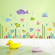 billiga Väggkonst-Dekrativa Väggstickers - Väggstickers Flygplan / Animal Wall Stickers Djur / Blommig / Botanisk Vardagsrum / Badrum