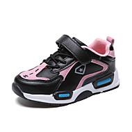baratos Sapatos de Menino-Para Meninos / Para Meninas Sapatos Couro Ecológico Primavera & Outono / Primavera Conforto Tênis Corrida / Caminhada Cadarço / Combinação / Velcro para Infantil / Adolescente Vermelho / Azul / Rosa