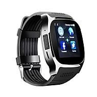 Herre Sportsur Digital Watch Digital Kalender Kronograf LCD Silikone Bånd Digital Afslappet Mode Sort / Hvid / Blåt - Hvid Sort Blå / tachymeter