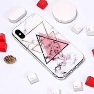 billiga Mobil cases & Skärmskydd-fodral Till Apple iPhone XR / iPhone XS Max Mönster Skal Marmor Mjukt TPU för iPhone XS / iPhone XR / iPhone XS Max