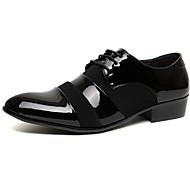tanie Small Size Shoes-Męskie formalne Buty PU Wiosna / Lato Biznes Oksfordki Czarny