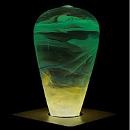 billige Globepærer med LED-1pc 3 W 160/ E26 / E27 ST64 1 LED perler Høyeffekts-LED Kreativ / Nytt Design / Dekorativ Varm hvit 90-240 V