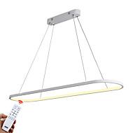 billige Udsalg-ZHISHU Sirkelformet Lysekroner Omgivelseslys Malte Finishes Aluminum Mini Stil, Kreativ, Mulighet for demping 110-120V / 220-240V Dimbar med fjernkontroll LED lyskilde inkludert / Integrert LED