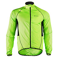 cheap -Nuckily Men's Cycling Jacket Bike Jacket Windbreaker Raincoat Waterproof Windproof Breathable Sports Patchwork Polyester Winter Green Mountain Bike MTB Road Bike Cycling Clothing Apparel Advanced