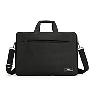 billige Computertasker-Nylon Helfarve Laptoptaske Solid Helfarve Sort / Brun