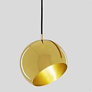billige -Cirkelformet Vedhæng Lys Baggrundsbelysning - Kreativ, 110-120V / 220-240V Pære ikke Inkluderet