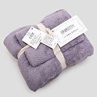tanie Zestaw ręczników kąpielowych-Najwyższa jakość Zestaw ręczników kąpielowych, Geometric Shape Czysta bawełna Łazienka 2 pcs