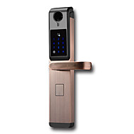 billige Intelligente låser-Factory OEM Rustfritt Stål Intelligent Lås Smart hjemme sikkerhet System RFID / Lavt batteri påminnelse / Anti peeping passord Hjem / Soveværelse / Leilighet (Lås opp modus Fingeravtrykk / Passord