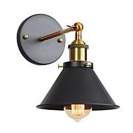 billige Vegglamper-Anti-refleksjon / Øyebeskyttelse Retro / vintage / Traditionel / Klassisk Vegglamper Stue / Leserom / Kontor Metall Vegglampe 110-120V / 220-240V 60 W