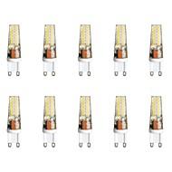 baratos Luzes LED de Dois Pinos-10pçs 3 W 300 lm G9 Luminárias de LED  Duplo-Pin T 28 Contas LED SMD 2835 Branco Quente / Branco 85-265 V