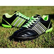 baratos Sapatos Masculinos-Homens Sapatos Confortáveis Couro Ecológico Primavera & Outono Tênis Futebol Preto / Laranja / Azul