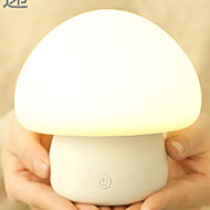 billige Skrivebordslamper-1pc LED Night Light Usb Nytt Design / Berør sensoren / Fargeskiftende 220-240 V