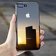 מגן עבור Apple iPhone X / iPhone 7 Plus ציפוי / אולטרה דק / שקוף כיסוי אחורי אחיד רך TPU ל iPhone X / iPhone 8 Plus / iPhone 8