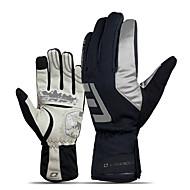 Aktivitets- / Sportshandsker Cykelhandsker / Touch Handsker Hold Varm / Påførelig / Åndbart Fuld Finger Gummi / silica Gel / Superfint fiber Cykling / Cykel Herre / Dame