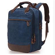 baratos Mochilas-Mulheres Bolsas Tela de pintura mochila Ziper Azul Céu / Khaki / Azul Real