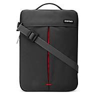 billige Computertasker-Oxfordtøj Laptoptaske Lynlås Rød / Grå / Kakifarvet