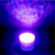 billige Innendørs LED-lys-brelong 1 stk bluetooth musikk ledet havprojeksjon star light dc5v usb strømforsyning