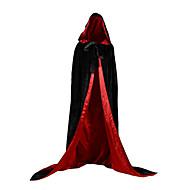 Strega Costumi da vampiro Cappotto Costumi Cosplay Vestito da Serata Elegante Costume Abito di Natale Unisex Adulto Per adulto Prendisole Halloween Natale Halloween Carnevale Feste / vacanze Raso