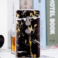 billiga Mobil cases & Skärmskydd-fodral Till Sony Xperia XZ2 Compact / Xperia XZ2 Genomskinlig / Mönster Skal Marmor Mjukt TPU för Huawei P20 / Huawei P20 Pro / Huawei P20 lite