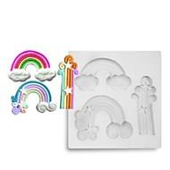 billige Bakeredskap-Bakeware verktøy silica Gel Bedårende / Kreativ Kjøkken Gadget / GDS Dagligdags Brug / Kake / For kjøkkenutstyr Rund Cake Moulds 1pc