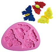 billige Bakeredskap-Bakeware verktøy silica Gel Bedårende / 3D / GDS Dagligdags Brug / Kake / For kjøkkenutstyr Cake Moulds 1pc